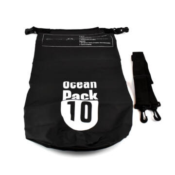 Ocean Pack Vízálló Táska 10L Fekete