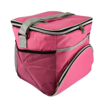Promis Hűtőtáska Strandtáska 16L Pink