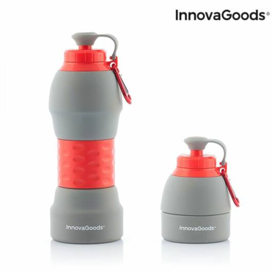 Összecsukható Szilikon Kulacs BPA Mentes 580 ml Innova Goods