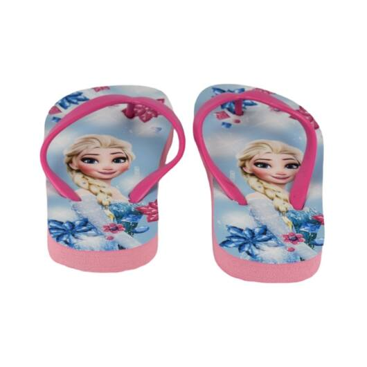 Disney Jégvarázs Gyermek Flip-Flop Strandpapucs Pink 25-26